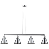 Innovations Lighting 214-PC-S-M13-PC Appalachian 4 Light 52 inch Polished Chrome Island Light Ceiling Light Franklin Restoration