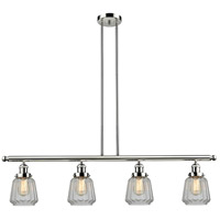 Chatham 4 Light 48 inch Polished Nickel Island Light Ceiling Light