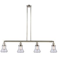 Innovations Lighting 214-PN-S-G192-LED Bellmont LED 51 inch Polished Nickel Island Light Ceiling Light Adjustable