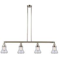 Innovations Lighting 214-PN-S-G194-LED Bellmont LED 51 inch Polished Nickel Island Light Ceiling Light Adjustable