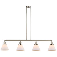 Innovations Lighting 214-PN-S-G41-LED Large Cone LED 52 inch Polished Nickel Island Light Ceiling Light Adjustable