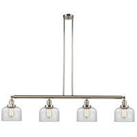 Innovations Lighting 214-PN-S-G72-LED Large Bell LED 53 inch Polished Nickel Island Light Ceiling Light Adjustable