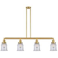 Innovations Lighting 214-SG-G182-LED Canton LED 51 inch Satin Gold Island Light Ceiling Light Franklin Restoration
