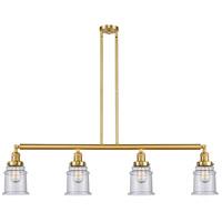 Innovations Lighting 214-SG-G184-LED Canton LED 51 inch Satin Gold Island Light Ceiling Light Franklin Restoration