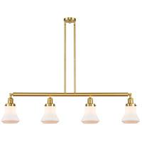 Innovations Lighting 214-SG-G191-LED Bellmont LED 51 inch Satin Gold Island Light Ceiling Light Franklin Restoration