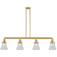 Innovations Lighting 214-SG-G194-LED Bellmont LED 51 inch Satin Gold Island Light Ceiling Light Franklin Restoration