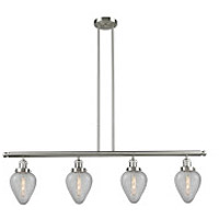 Geneseo 4 Light 48 inch Brushed Satin Nickel Island Light Ceiling Light