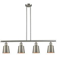 Brushed Satin Nickel Addison Island Lights