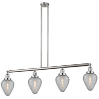 Innovations Lighting 214-SN-S-G165-LED Geneseo LED 52 inch Brushed Satin Nickel Island Light Ceiling Light Franklin Restoration