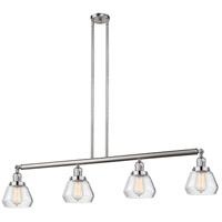 Innovations Lighting 214-SN-S-G172-LED Fulton LED 51 inch Brushed Satin Nickel Island Light Ceiling Light Adjustable