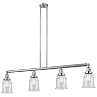 Canton 4 Light 51 inch Brushed Satin Nickel Island Light Ceiling Light, Adjustable