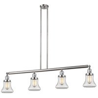 Innovations Lighting 214-SN-S-G192 Bellmont 4 Light 51 inch Brushed Satin Nickel Island Light Ceiling Light Adjustable