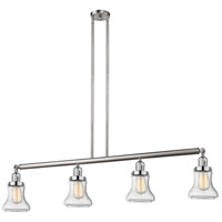 Innovations Lighting 214-SN-S-G194 Bellmont 4 Light 51 inch Brushed Satin Nickel Island Light Ceiling Light Adjustable