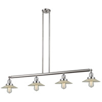 Innovations Lighting 214-SN-S-G2 Halophane 4 Light 53 inch Brushed Satin Nickel Island Light Ceiling Light Adjustable