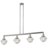 Brushed Nickel Oxford Island Lights