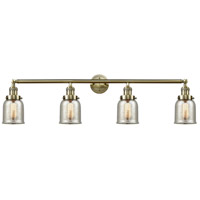 Innovations Lighting 215-AB-G58-LED Small Bell LED 43 inch Antique Brass Bath Vanity Light Wall Light, Franklin Restoration photo thumbnail