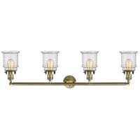 Innovations Lighting 215-BB-S-G184 Canton 4 Light 42 inch Brushed Brass Bath Vanity Light Wall Light, Franklin Restoration