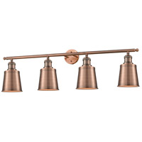 Innovations Lighting 215-AC-M9-AC Addison 4 Light 42 inch Antique Copper Bath Vanity Light Wall Light Franklin Restoration