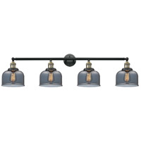 Innovations Lighting 215-BAB-G73-LED Large Bell LED 44 inch Black Antique Brass Bath Vanity Light Wall Light Franklin Restoration