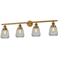 Brushed Brass Chatham Bathroom Vanity Lights