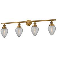 Innovations Lighting 215-BB-G165-LED Geneseo LED 43 inch Brushed Brass Bath Vanity Light Wall Light, Franklin Restoration