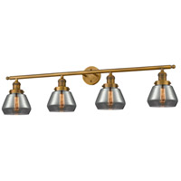 Cast Brass Fulton Bathroom Vanity Lights