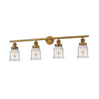 Brushed Brass Canton Bathroom Vanity Lights