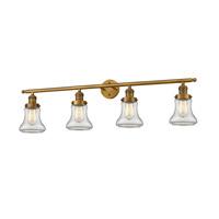 Innovations Lighting 215-BB-S-G192 Bellmont 4 Light 42 inch Brushed Brass Bathroom Fixture Wall Light Adjustable