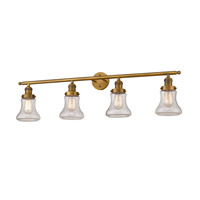 Innovations Lighting 215-BB-S-G194 Bellmont 4 Light 42 inch Brushed Brass Bathroom Fixture Wall Light Adjustable