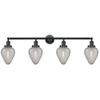 Innovations Lighting 215-BK-G165-LED Geneseo LED 43 inch Matte Black Bath Vanity Light Wall Light Franklin Restoration