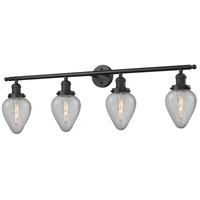 Innovations Lighting 215-OB-G165-LED Geneseo LED 43 inch Oil Rubbed Bronze Bath Vanity Light Wall Light Franklin Restoration