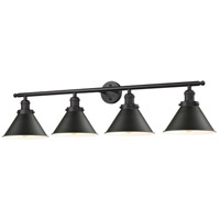 Innovations Lighting 215-OB-M11-LED Briarcliff LED 42 inch Oil Rubbed Bronze Bathroom Fixture Wall Light