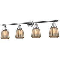 Innovations Lighting 215-PC-S-G146 Chatham 4 Light 42 inch Polished Chrome Bathroom Fixture Wall Light Adjustable