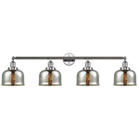 Innovations Lighting 215-PC-G78 Large Bell 4 Light 45 inch Polished Chrome Bath Vanity Light Wall Light Franklin Restoration
