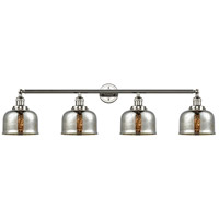 Innovations Lighting 215-PN-S-G78-LED Large Bell LED 45 inch Polished Nickel Bath Vanity Light Wall Light Franklin Restoration