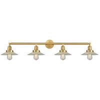 Innovations Lighting 215-SG-G2-LED Halophane LED 45 inch Satin Gold Bath Vanity Light Wall Light Franklin Restoration