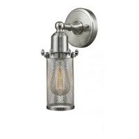 Innovations Lighting 220-SN-LED Quincy Hall LED 5 inch Brushed Satin Nickel Sconce Wall Light photo thumbnail
