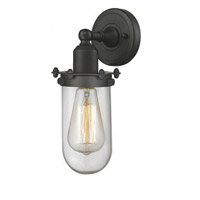 Innovations Lighting 232-OB-CL Centri 1 Light 4 inch Oiled Rubbed Bronze Wall Sconce Wall Light