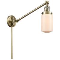 Innovations Lighting 237-AB-G311-LED Dover 30 inch 3.5 watt Antique Brass Swing Arm Wall Light Franklin Restoration