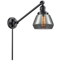 Innovations Lighting 237-BK-G173 Fulton 35 inch 60 watt Matte Black Swing Arm Wall Light Franklin Restoration