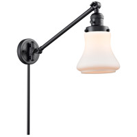 Innovations Lighting 237-BK-G191-LED Bellmont 35 inch 3.5 watt Matte Black Swing Arm Wall Light Franklin Restoration
