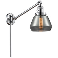 Innovations Lighting 237-PC-G173 Fulton 35 inch 60 watt Polished Chrome Swing Arm Wall Light Franklin Restoration
