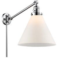 Innovations Lighting 237-PC-G41-L-LED X-Large Cone 16 inch 3.5 watt Polished Chrome Swing Arm Wall Light Franklin Restoration