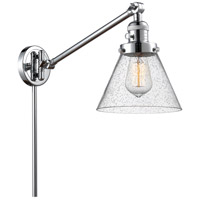 Innovations Lighting 237-PC-G44 Large Cone 30 inch 60.00 watt Polished Chrome Swing Arm Wall Light Franklin Restoration