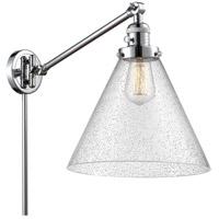 Innovations Lighting 237-PC-G44-L-LED X-Large Cone 16 inch 3.5 watt Polished Chrome Swing Arm Wall Light Franklin Restoration
