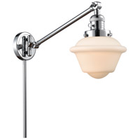 Innovations Lighting 237-PC-G531 Small Oxford 30 inch 60.00 watt Polished Chrome Swing Arm Wall Light Franklin Restoration