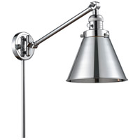 Innovations Lighting 237-PC-M13-PC Appalachian 18 inch 60 watt Polished Chrome Swing Arm Wall Light Franklin Restoration