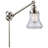 Innovations Lighting 237-PN-G192 Bellmont 35 inch 60 watt Polished Nickel Swing Arm Wall Light, Franklin Restoration photo thumbnail