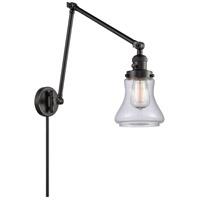 Innovations Lighting 238-BK-G192 Bellmont 30 inch 60 watt Matte Black Swing Arm Wall Light Franklin Restoration