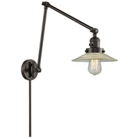 Halophane 30 inch 100 watt Oiled Rubbed Bronze Swing Arm Sconce Wall Light